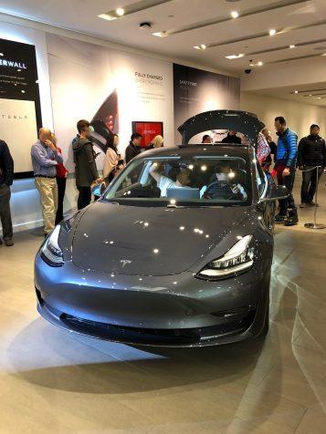 Tesla Model 3 stanford 2