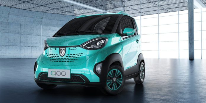 this small electric car madegm's chinese joint-venture can cost