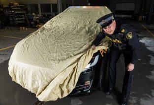 Tesla Model X police 3