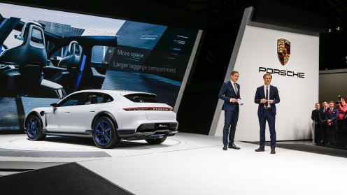 high_oliver_blume_ceo_at_porsche_ag_michael_mauer_head_of_the_style_porsche_l_r_mission_e_cross_turismo_geneve_motor_show_2018_porsche_ag