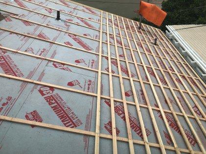 tesla solar roof installation 2