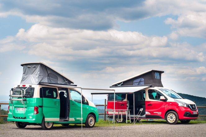 Nissan Unveils All Electric Camper Based On The E Nv200