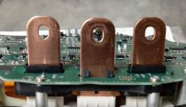 Model 3 inverter bus bars