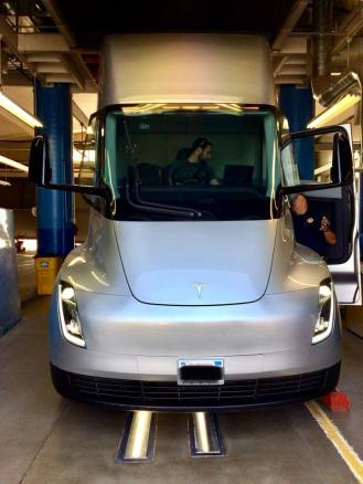 Tesla semi prototype inspection 2
