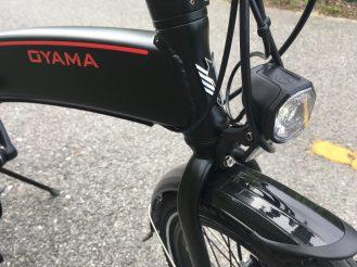 Oyama folding ebike - 9