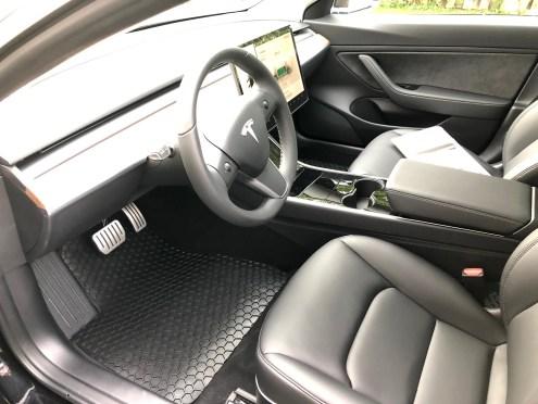 Tesla model 3 floormat