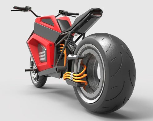 rmk electric motorcycle rear wheel