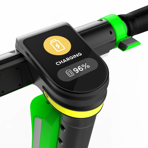 Lime-S Gen 3 mockupV6_yellow_charging