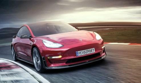 MOdel 3 Tesla RevoZport Racing kit