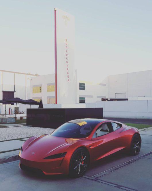 Tesla next-gen roadster 2