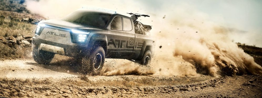 atlis pickup truck 1