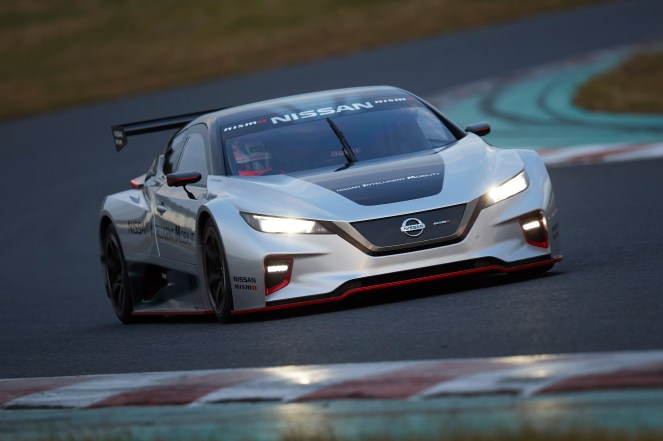 Nissan dévoile sa toute nouvelle voiture de course électrique