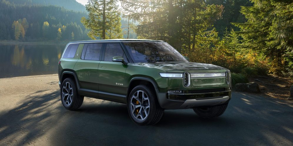 Rivian Amazon GM electric suv