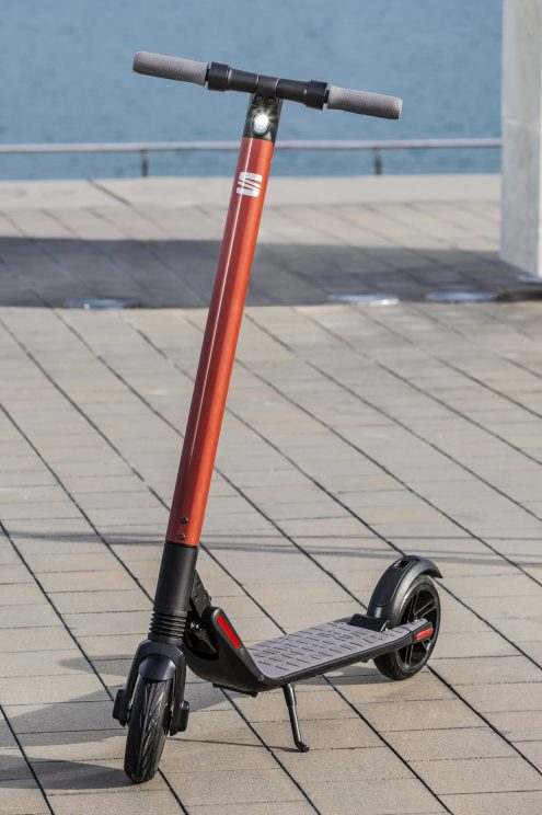 seat scooter segway