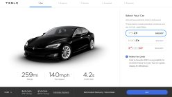 Tesla online configurator