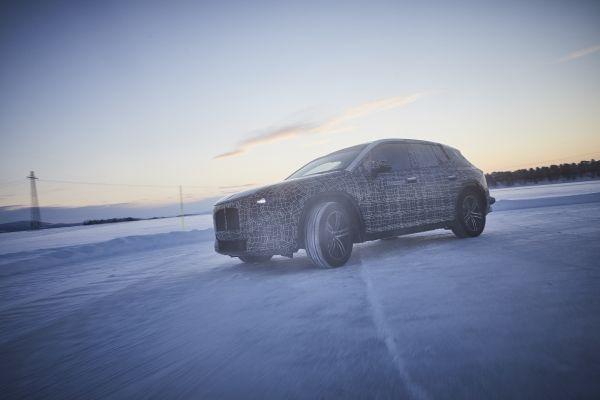 BMW iNext winter testing 2