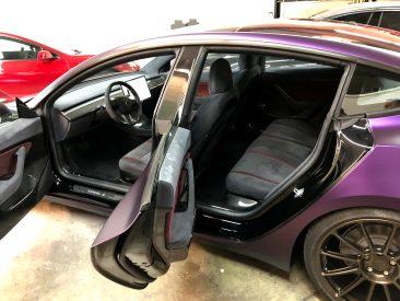 Tesla Model 3 Purple 10