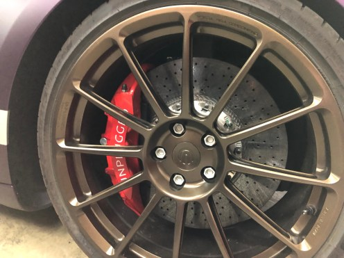 Tesla Model 3 Unplugged brake pad