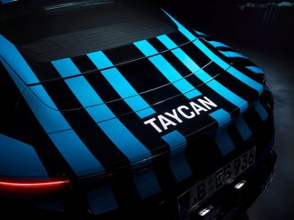 Porsche Taycan camouflage 2