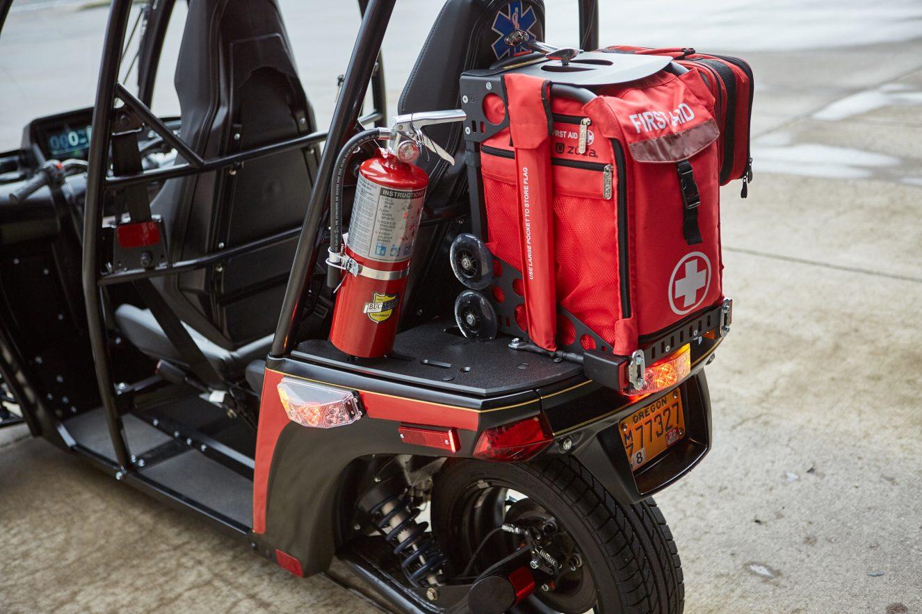 Des tricycles électriques pour remplacer les motos de livraison et les ambulances ! Par Robin Ecoeur  Rapid-Responder-7