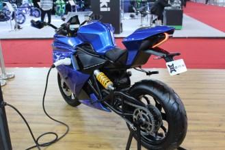 emflux one electric motorcycle