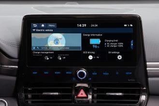 New Hyundai IONIQ Electric Interior (5)