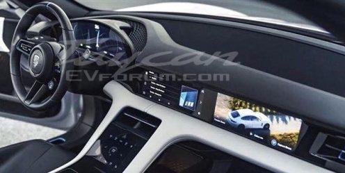 Porsche Taycan Interior 1