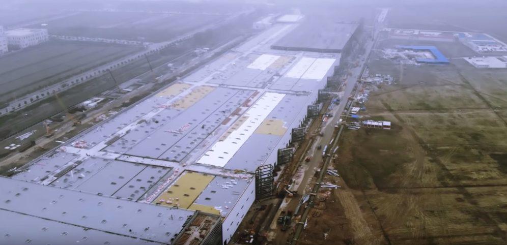 Tesla Gigafactory 3 update 2