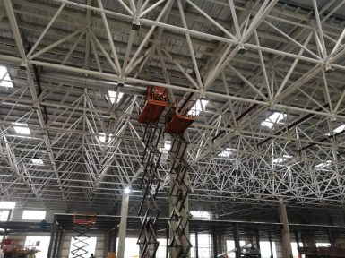 Tesla gigafactory 3 inside