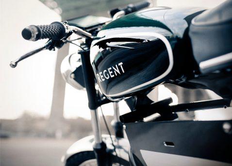 Regent NO 1. electric motorcycle