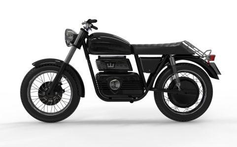 Regent NO. 1 electric motorcycle
