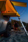 Rivian R1T electriic pickup truck camper 6