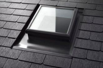 TEsla Solar roog skylight