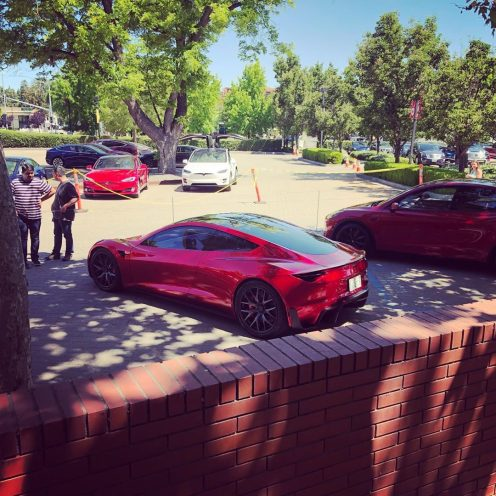 Tesla Roadster shareholders meeting 2