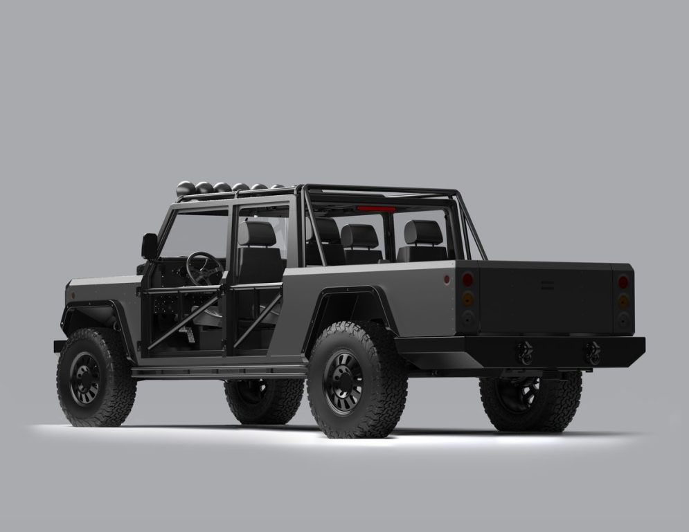 Bollinger custom electric truck 4