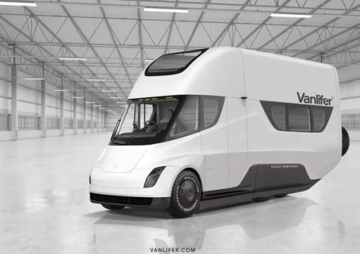 tesla semi. r _motorhome_interior_electric_future_vanlifer_2_grande