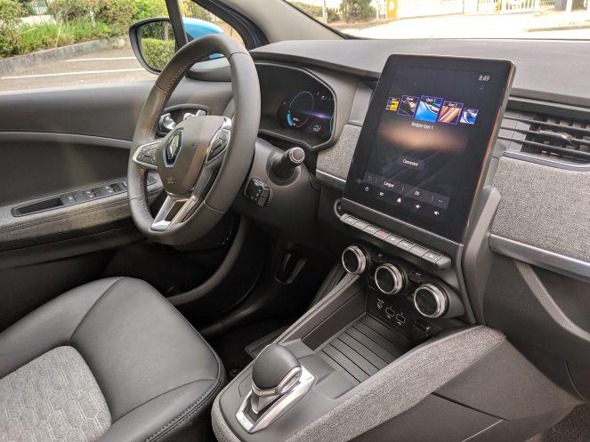 Renault Zoe 3rd Gen interior