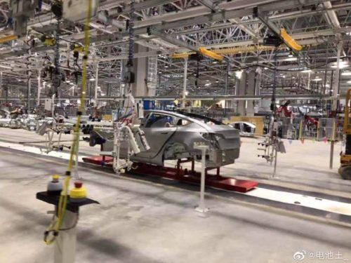Tesla Gigafactory 3 leaked image 1
