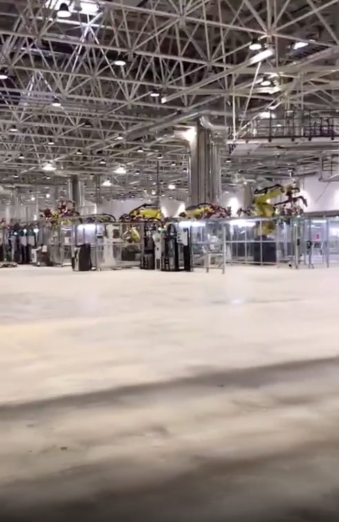 Tesla Gigafactory 3 leaked image 3