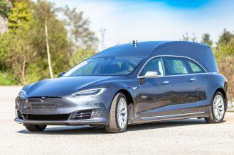 Tesla Model S hearse 2