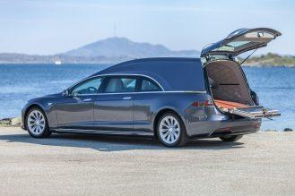 Tesla Model S hearse 4