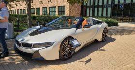 BMW i8 pixar