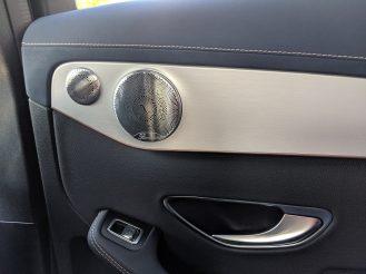 Mercedes electric EQC door