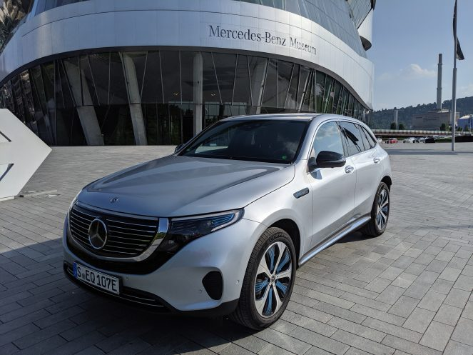 Mercedes electric EQC front