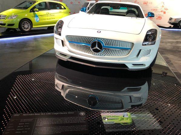 Mercedes electric Mercedes Museum