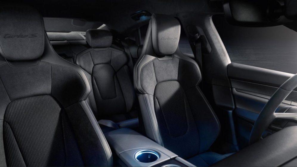 Porsche Taycan interior - seats