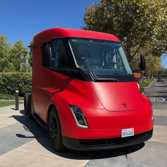 Tesla Semi at Pixar 1