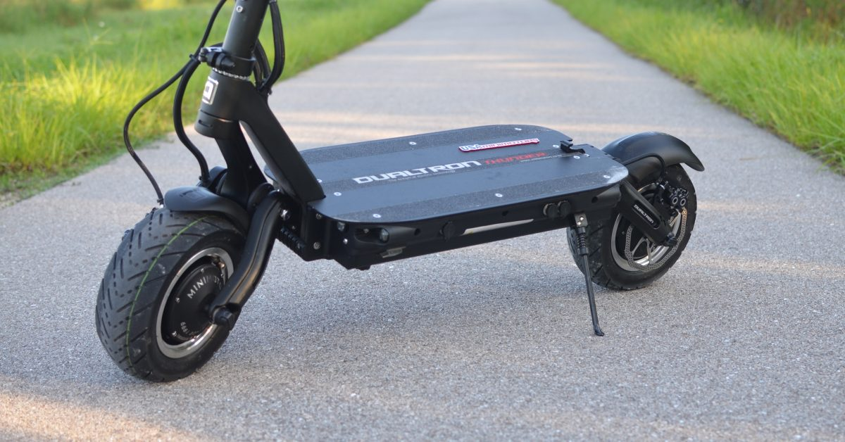 Review: 50 MPH Dualtron Thunder electric scooter (or how I cheated death, again) - Electrek