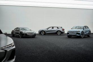 Audi electric sedan teaser 1