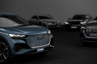 Audi electric sedan teaser 2